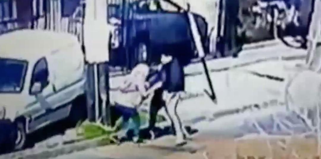 Delincuentes robaron 10% AFP a mujer que marcaron con pintura en el banco