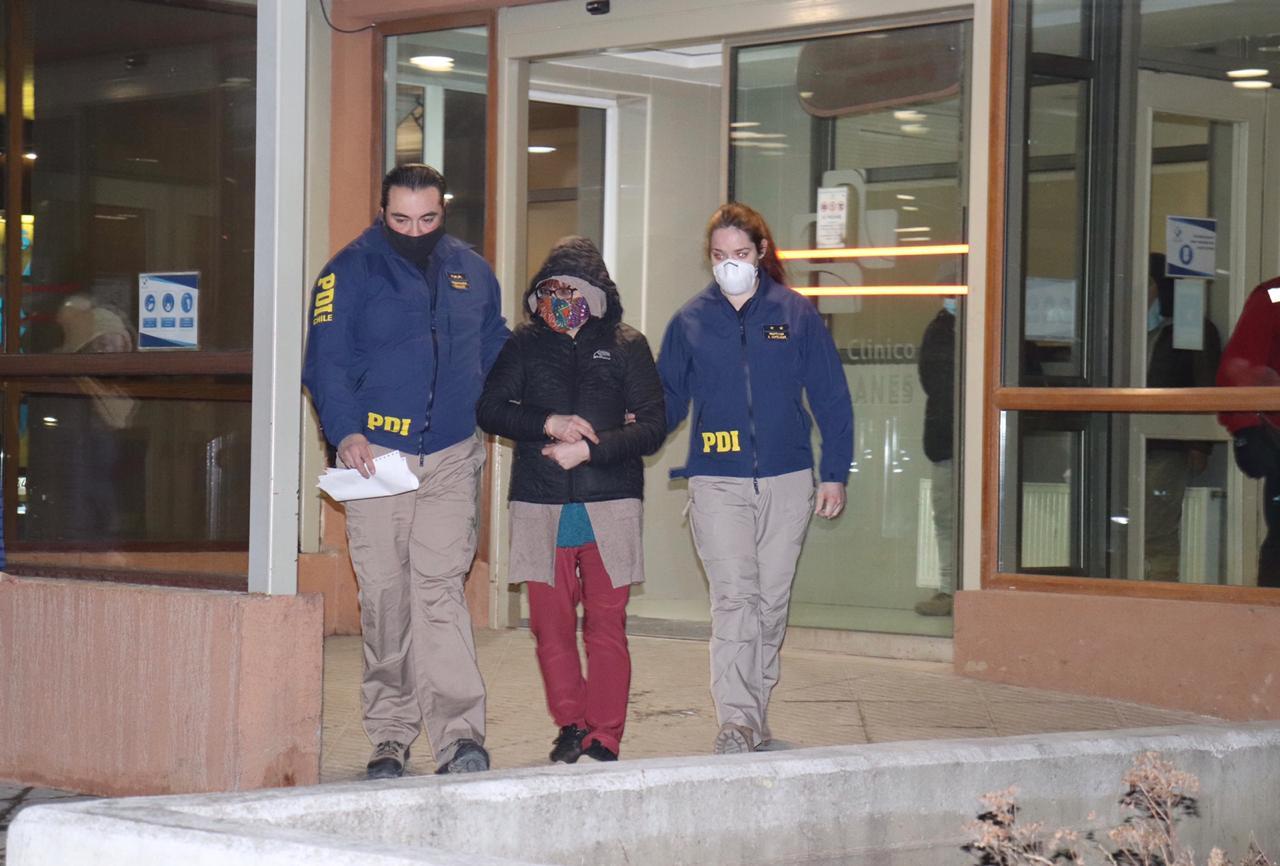 Esposa e hijos de víctima son detenidos como autores de parricidio en Punta Arenas