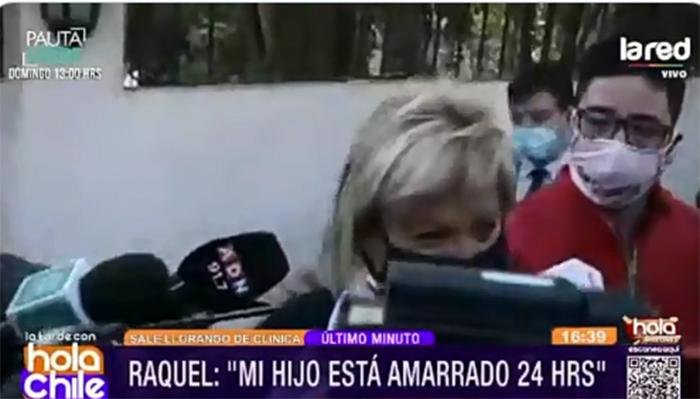 «Necesita tratarse»: Raquel Argandoña se quiebra en TV tras denunciar malos tratos a su hijo