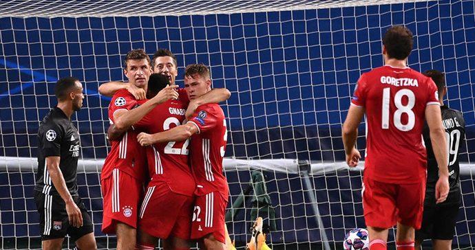 Final 'soñada' en Champions League: Bayern Munich goleó al Lyon y va por el título ante el PSG