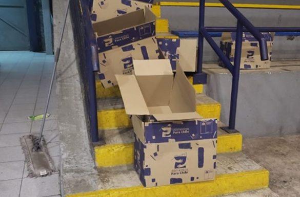 Desconocidos roban cajas de alimentos destinadas a familias en situación crítica en Cabrero