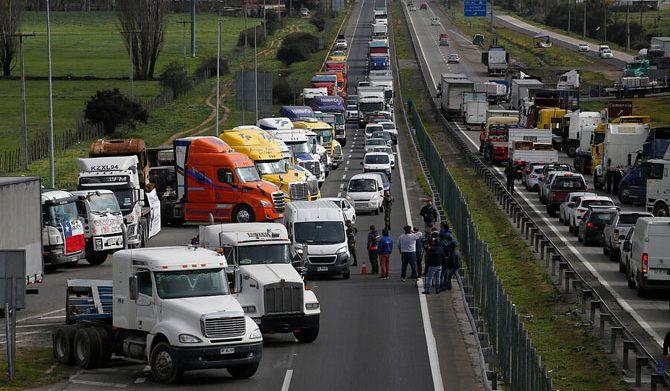 Camioneros avisan al Gobierno por ataques en La Araucanía: «Se terminaron los plazos»