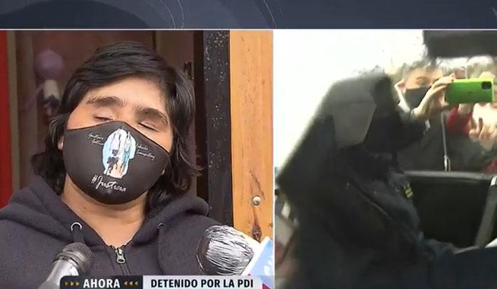 Fabiola Campillai y Carabinero que la dejó ciega: «Es un delincuente»