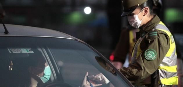 Hombre se negó a control policial y fracturó mano de Carabinera