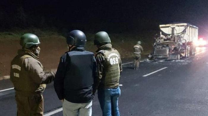 Ataque incendiario en La Araucanía deja a un camionero herido con esquirlas