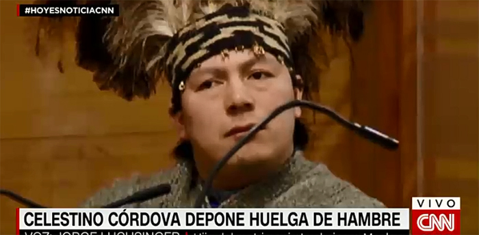 Jorge Luchsinger sobre Celestino Córdova: «Para mí no es un líder, es un asesino»