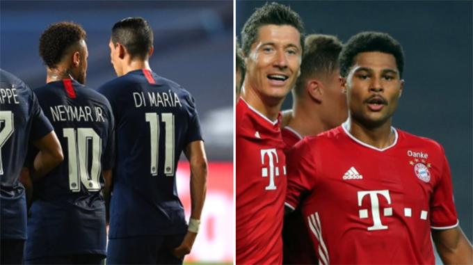 A qué hora y quien transmite: PSG y Bayern Munich se miden en la final de Champions League