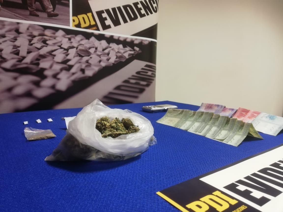 PDI allana domicilios utilizados para la venta de droga en Los Ángeles