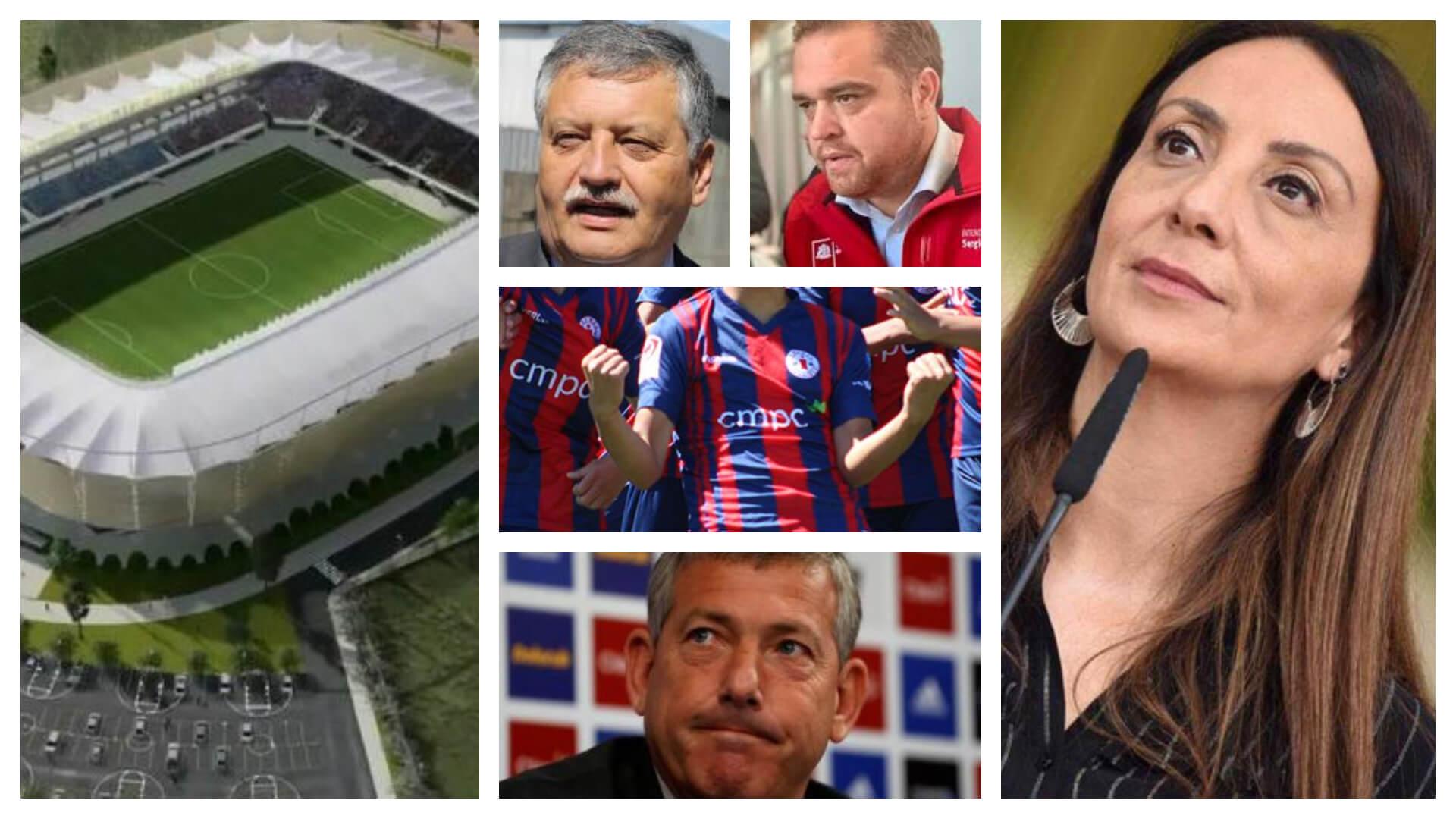 El estadio de fútbol
