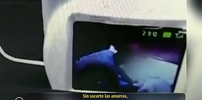 De no creer: Video revela maltratos de juez de Iquique contra su madre discapacitada