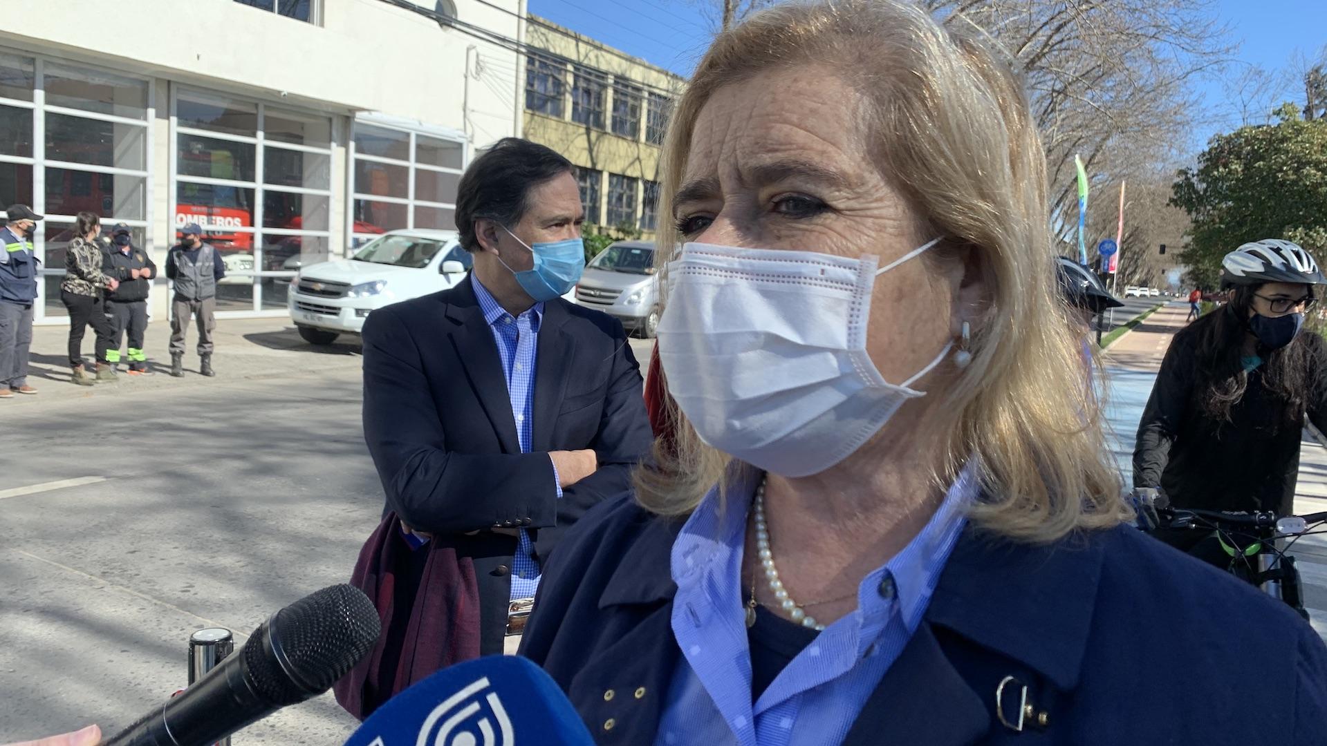 Presidenta del CORE golpea la mesa por estadio para L.A: «Los compromisos se cumplen»