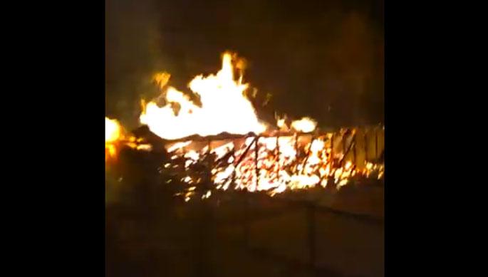 Desconocidos incendian fundo de los padres de Fuad Chahín, presidente de la DC