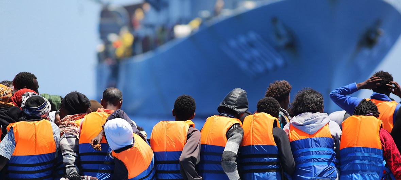 Mueren 45 migrantes tras naufragio en las costas de Libia: 5 eran niños