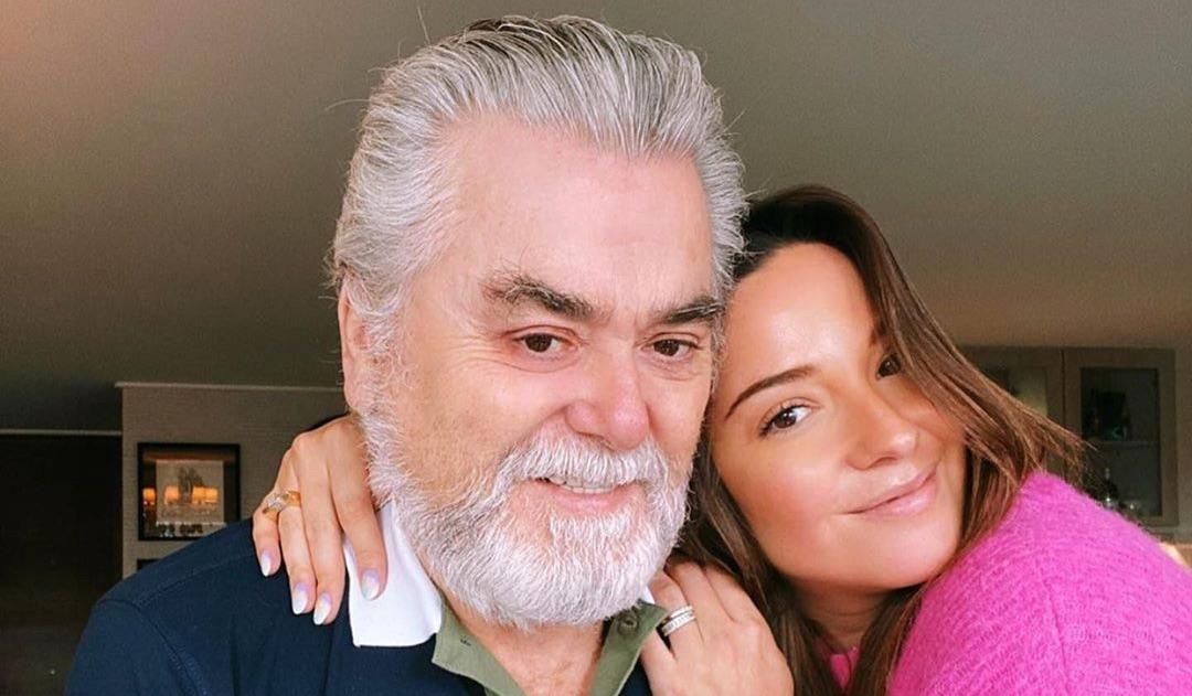 Kel Calderón publica foto con su padre acompañado de potente mensaje de apoyo