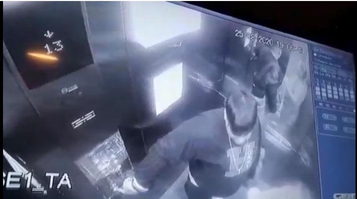 Hombre es detenido luego de amenazar a su esposa con un cuchillo frente a sus cinco hijos