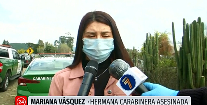 El descargo de la hermana de Carabinera asesinada: «No le brindaron protección»