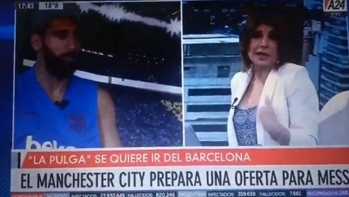 «Eres mujer, no entiendes de fútbol»: periodista argentino indigna a redes sociales por machista