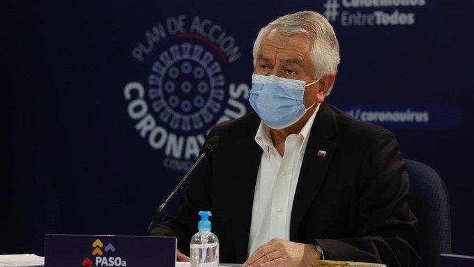 Minsal registra baja en contagios por Covid-19 y se suman 33 fallecidos