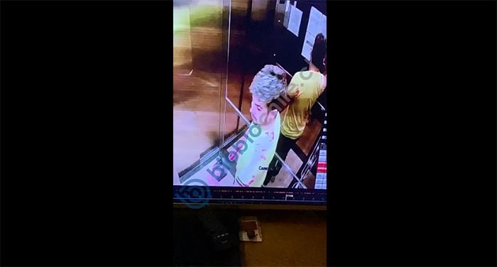Video revela 'sangrienta' selfie que se tomó Nano Calderón tras atacar a su padre