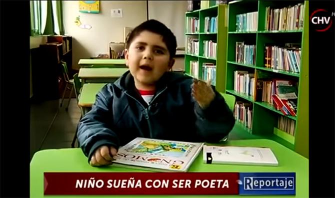 Cerca de cumplir un sueño: 'Niño Poeta' sorprende con importante anuncio