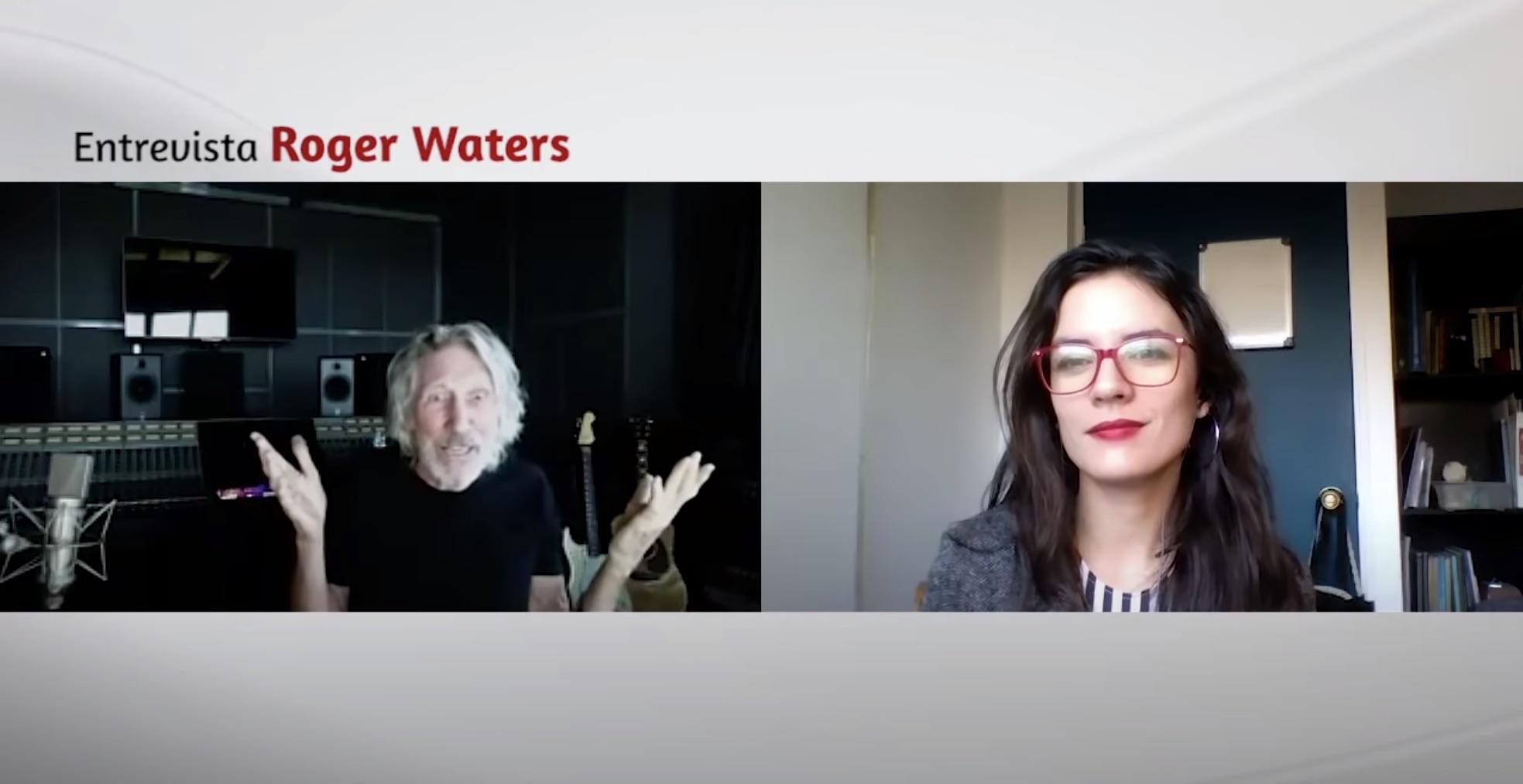 Roger Waters tuvo entrevista con Camila Vallejo: «Piñera es una rata»