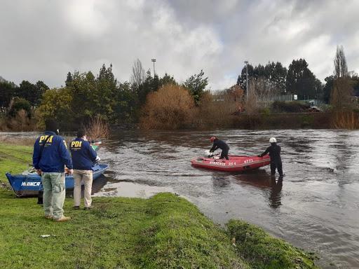 Encuentran cadáver en río Llollelhue de La Unión: sería joven desaparecido