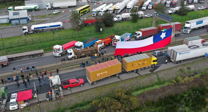 Anuncio de investigaciones por cortes de ruta marca tercer día del paro de camioneros