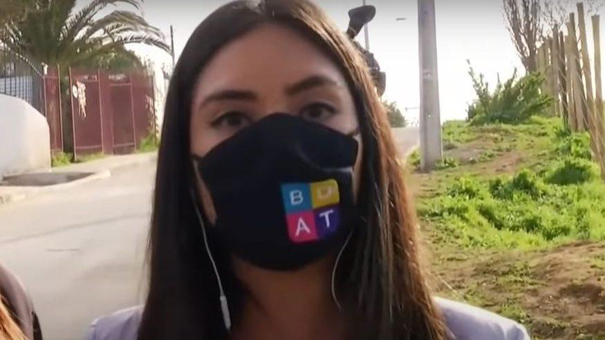 El estremecedor mensaje de periodista de TVN durante despacho por caso Ámbar