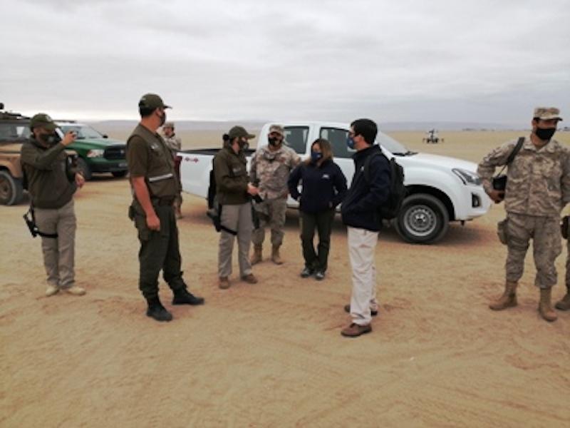 Preocupación por víctimas del tráfico de migrantes que son abandonadas en el desierto