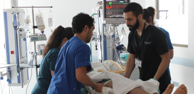 Autoridades confirmaron que solo quedan 2 camas UCI en Hospital de Los Ángeles