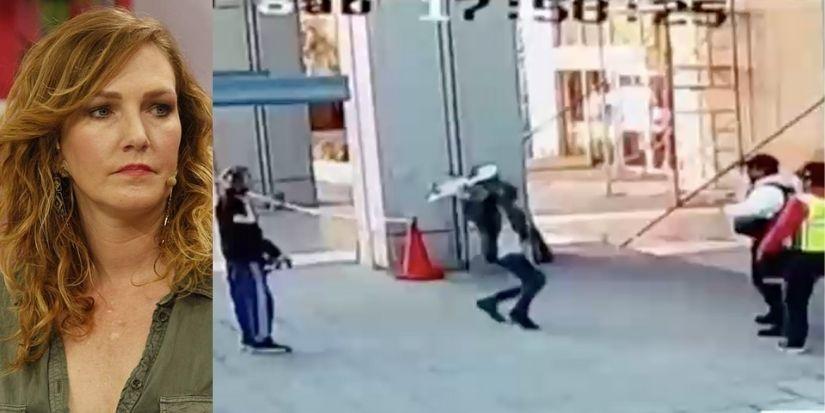 Hijo de Catalina Pulido fue detenido tras golpiza a guardias con skate