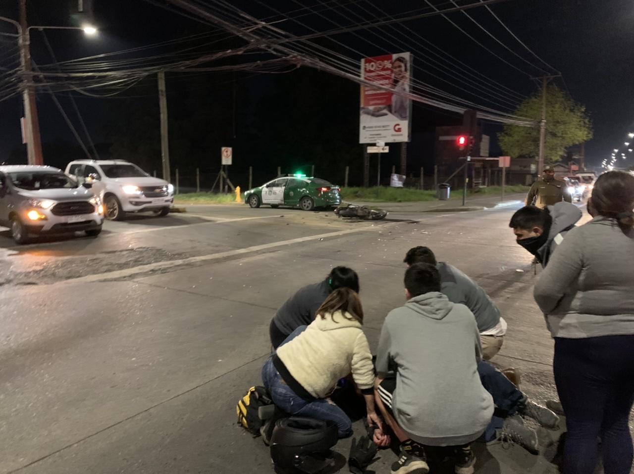 Motorista resulta herido tras colisión en Los Ángeles