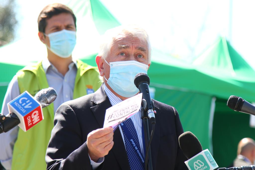 Chile supera los 437 mil contagios de coronavirus y suma 27 nuevos fallecidos