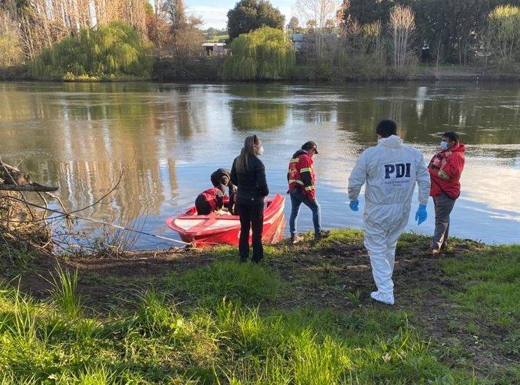 Encuentran cadáver de una mujer en el cauce del río Rahue