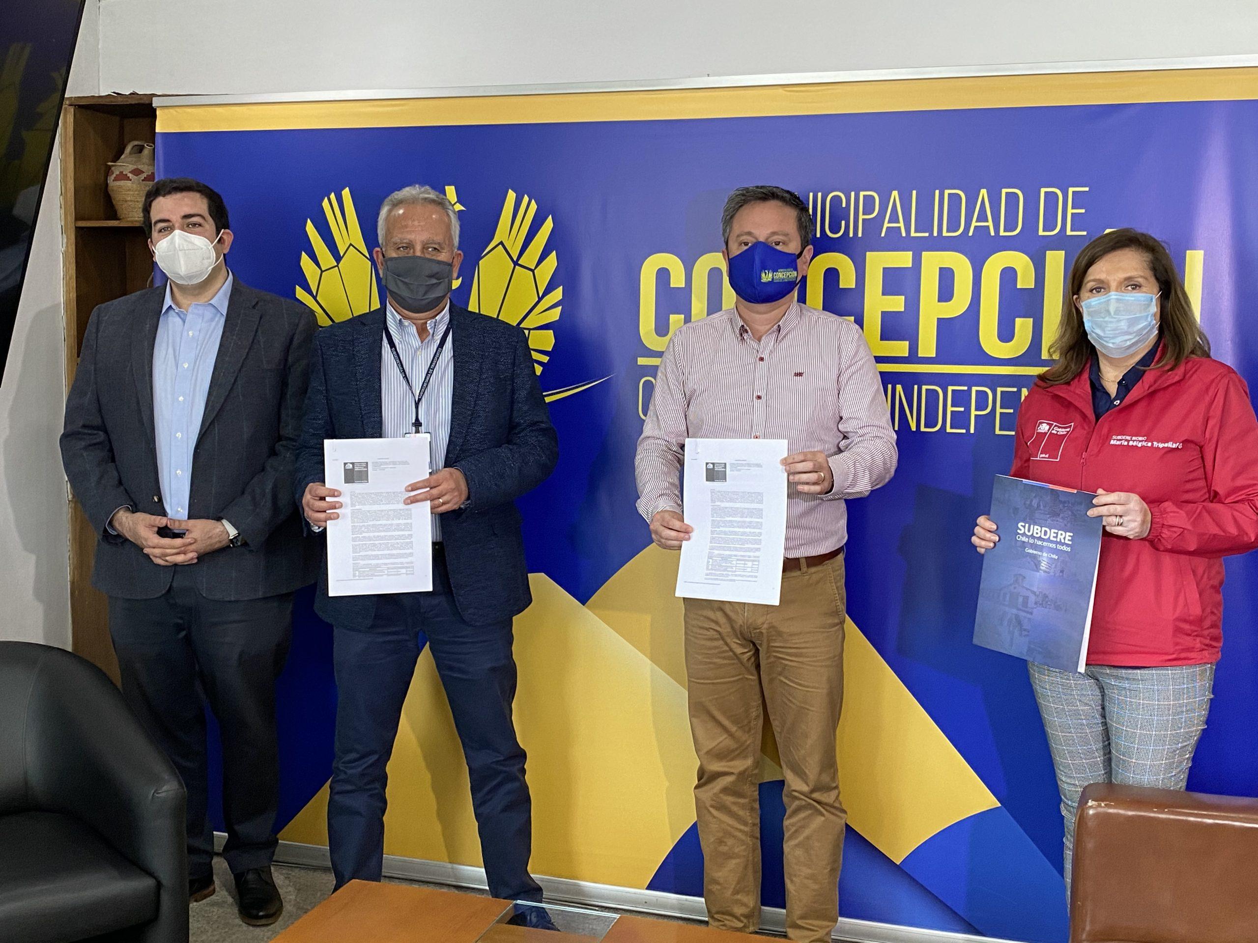 La millonaria inversión para poner en «modo covid» las calles de Concepción