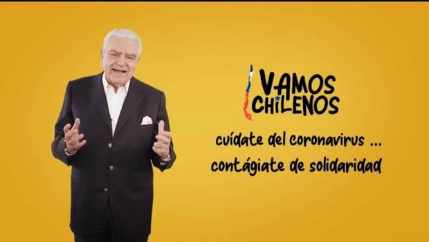 Campaña 'Vamos Chilenos' se toma la TV esta noche: revisa horarios y programación
