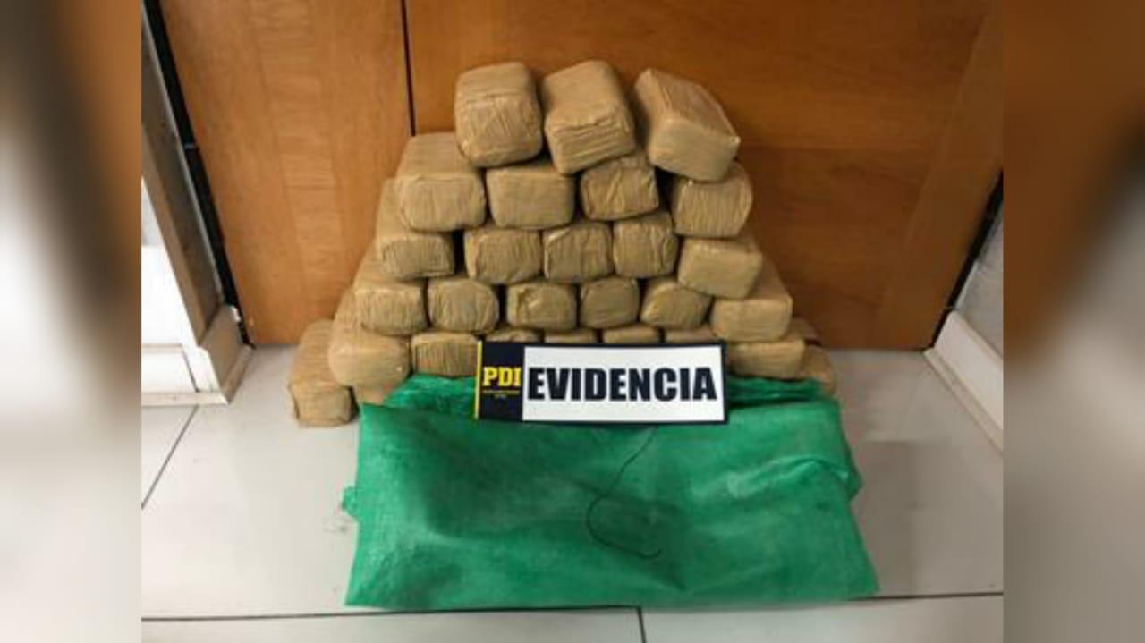 A la cárcel banda que transportaba 230 kilos de pasta base en Ruta 5