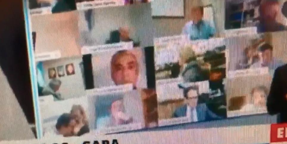 Diputado protagonizó acto sexual con pareja en plena sesión virtual en Argentina