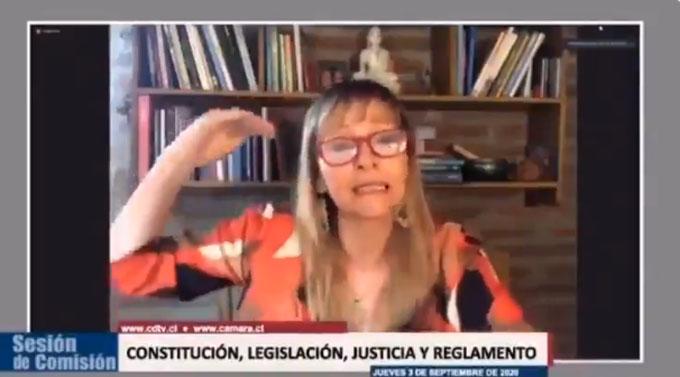 Carabineros detiene a hija de Ana María Gazmuri tras allanar su casa y encontrar 4 plantas de marihuana