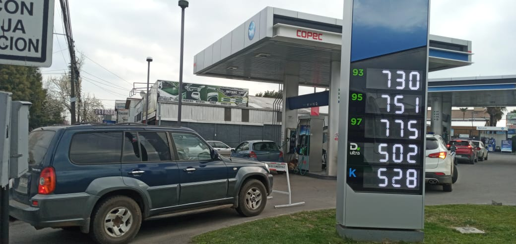 ¡Buena noticia!: bencinas sufrirán nueva baja a partir de este jueves