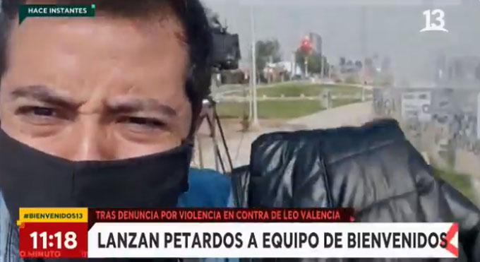 Equipo de Bienvenidos fue atacado con explosivos en pleno despacho desde el Estadio Monumental