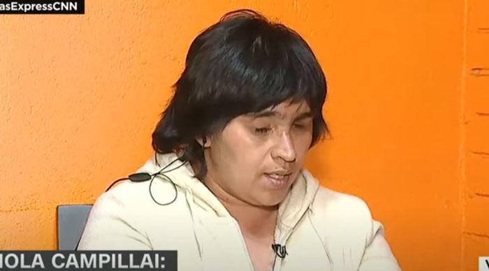 Fabiola Campillai fue internada de urgencia y será sometida a intervención