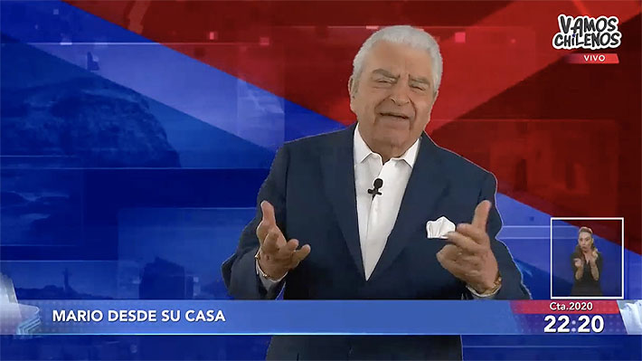 La sentida reacción de Don Francisco al nuevo cómputo del «Vamos Chilenos»