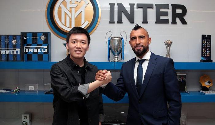 Ya es oficial: Arturo Vidal fue anunciado como nuevo jugador del Inter de Milán