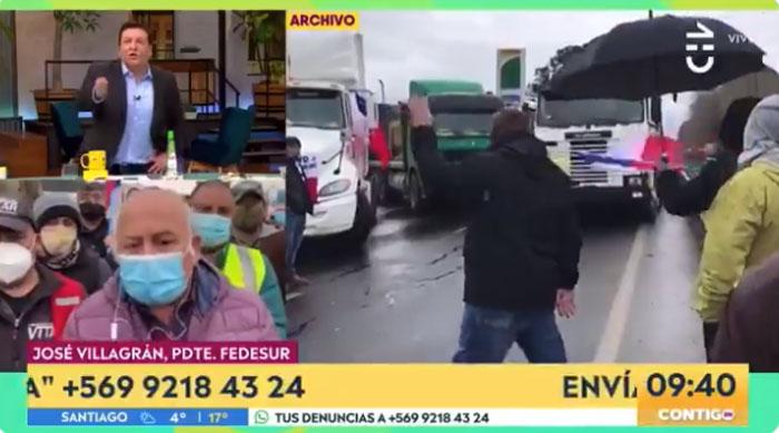 El feroz enojo de dirigente camionero: dejó hablando solo en pleno despacho a Julio César Rodríguez