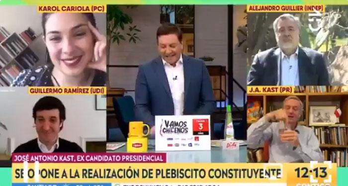 ¿Usted es Yolanda Sultana?: JC Rodríguez sacó risas tras viral respuesta a José Antonio Kast