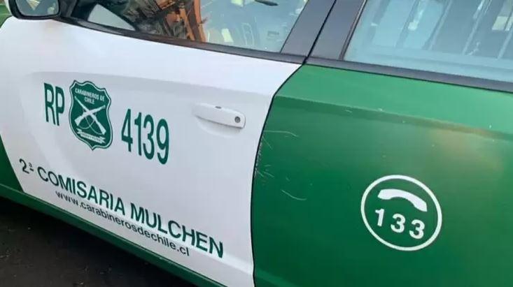 Vecino de Mulchén fue sorprendido conduciendo tranquilamente auto que tenía encargo por robo