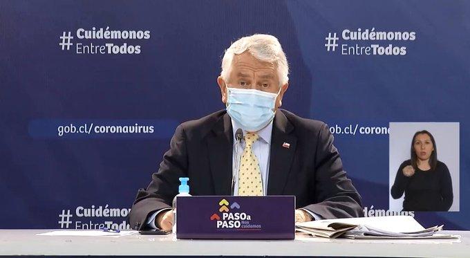 Muertes por Covid-19 sufren preocupante alza y contagios en Chile superan los 450 mil