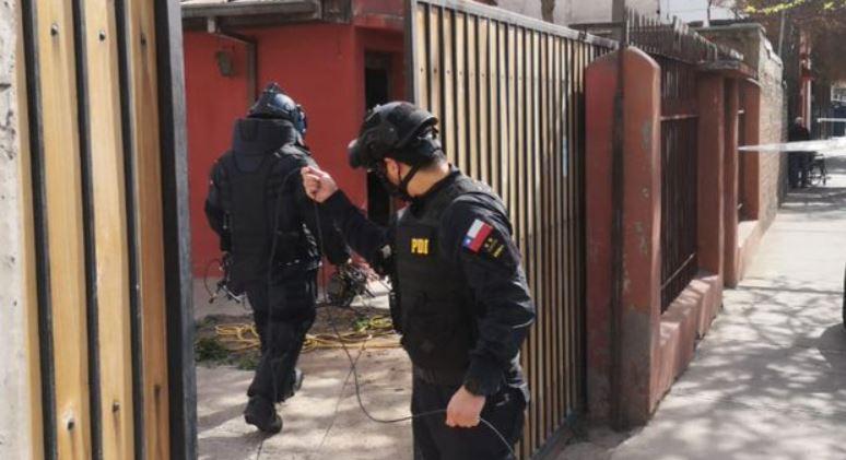 PDI detiene a sujeto que tenía una granada activa de gran alcance en su domicilio