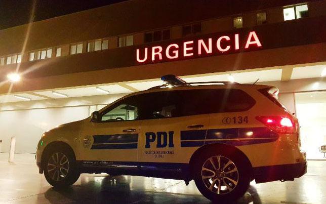 Recibió una estocada en pleno corazón y está grave en el hospital: PDI busca al autor del ataque